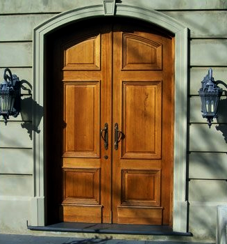 Custom Made Front Entry Doors